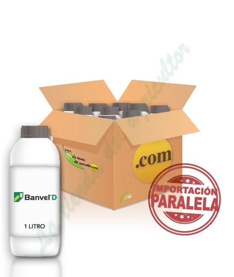 BANVEL-Dicamba 48% sal dimetilamina en 12 LITROS (CAJAS 12X1)