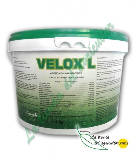 VELOX-L - BIONUTRIENTE SÓLIDO LISINA 6% p/p (6 Kg.)