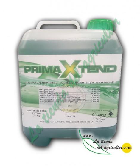 PRIMAXTEND (Abono 20-10-5 + Micros) (6 Litros)