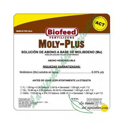 MOLY-PLUS 0–0–0+6%  (1 Litro)