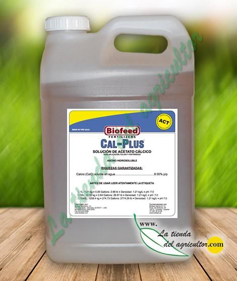 CAL PLUS 0-0-0 + 8% (10 Litros)