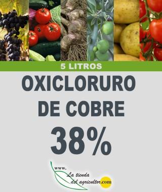OXICLORURO DE COBRE 38% (5 Litros)