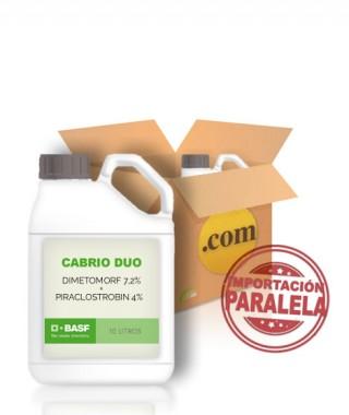 CABRIO DUO-DIMETOMORF 7,2% + PIRACLOSTROBIN 4%  EN 20 LITROS (CAJAS 2x10)