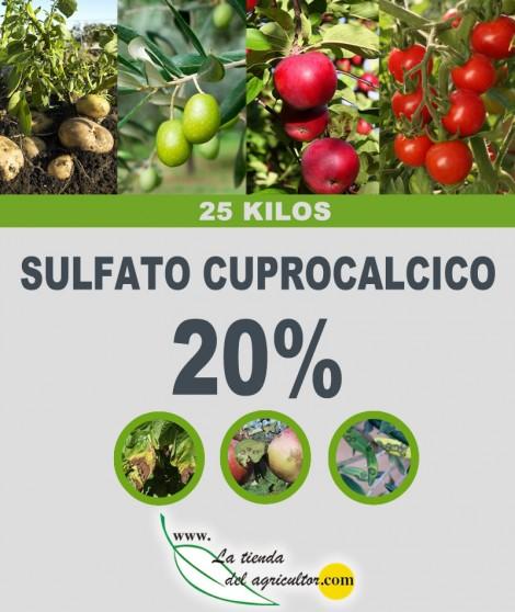 Sulfato Cuprocalcico 20% (25 Kg)