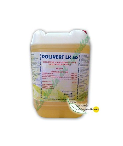 POLIVERT LK 50% (POTASA) (10 Litros)
