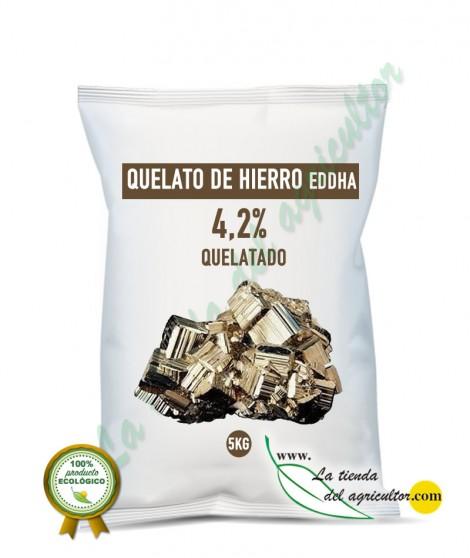 ULTRAFERRO-Quelato de hierro EDDHA 4,2% QUELATADO (5 Kg)