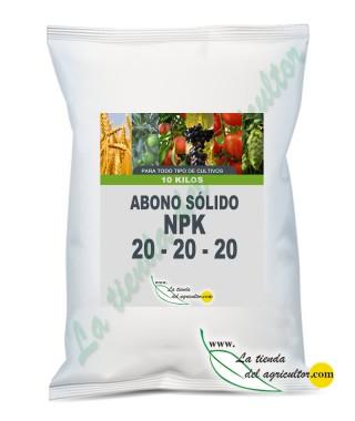 ABONO SOLIDO LTA 20-20-20 (10 Kg)