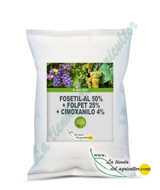 FOSETIL-AL 50% + FOLPET 25% + CIMOXANILO 4% [WP] P/P (5 KG)