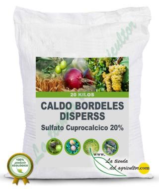 CALDO BORDELES DISPERSS-Sulfato Cuprocalcico 20%(20 Kg)