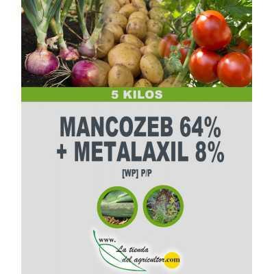 MANCOZEB 64% + METALAXIL 8%...