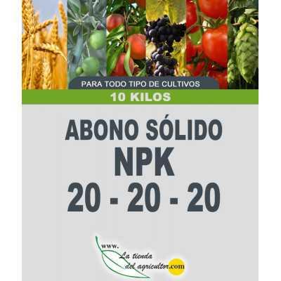 ABONO SOLIDO LTA 20-20-20...