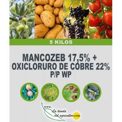 MANCOZEB 17,5% + OXICLORURO...