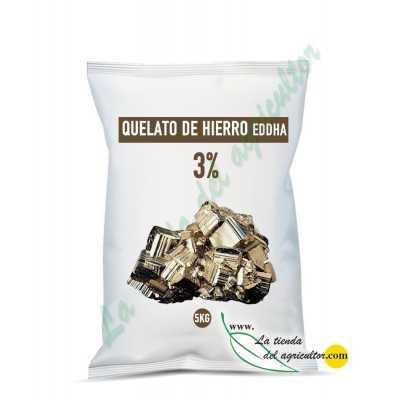Quelato de hierro EDDHA 3%...