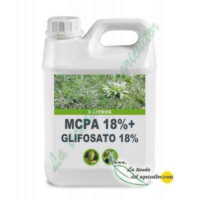 MCPA 18%+GLIFOSATO 18%  (5...