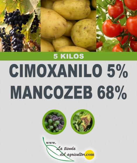 CIMOXANILO 5% + MANCOZEB 68% (5 Kg)