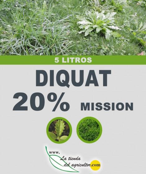 DIQUAT 20%-MISSION (5 Litros)